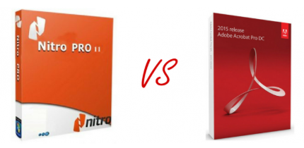 Nitro PDF vs Adobe Acrobat DC Standard - phần mềm nào là tốt nhất?