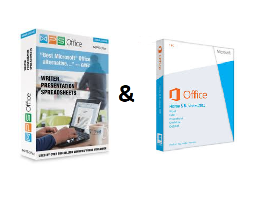 So sánh MICROSOFT OFFICE ® Home & Business 2013 và WPS Office Business Edition 2016