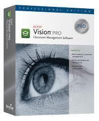 Các module trong hệ thống phần mềm quản lý lớp học Vision Pro.