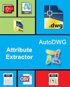 AutoDWG Attribute Extractor