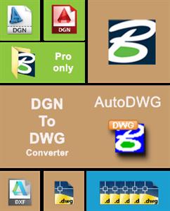 AutoDWG DGN to DWG Converter