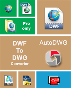 AutoDWG DWF to DWG Converter