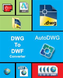 AutoDWG DWG to DWF Converter