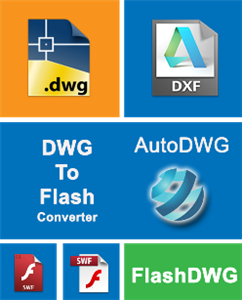 AutoDWG DWG to Flash Converter