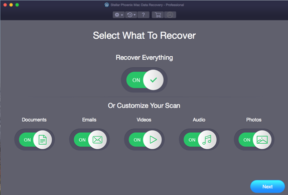 Stellar-Phoenix-Mac-Data-Recovery-Main-screen